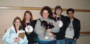 Scruffy's - Gold-Medal Winners (Fall 2009)